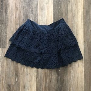 Banana Republic lace circle skirt, size 8